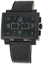 Montres De Luxe Milano Men's 16:9 Estremo Limited Edition All Black Chronograph