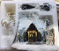 Thomas Kinkade Hawthorne Village Christmas St. Nicholas Christmas Shop 79980 New