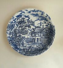 """The Hunter by Myott - Vintage 12"""" Dish Hand Engraved Permanent Colours"""