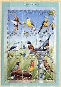 FAUNA_690 1998 Burkina Faso birds SHEET MNH Combined payments & shipping