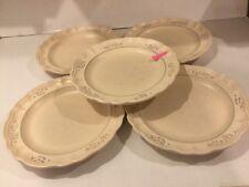 """5 Pfaltzgraff Remembrance Pattern Dinner Plates 11"""""""