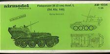 AIRMODEL PRODUCTS AM-1034 - FLAKPANZER 38 (2cm) Ausf. L (Sd.Kfz.140) 1/35 RESIN