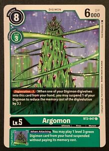 Argomon | BT2-047 C | Green | Common | Special Booster VER.1.5 | Digimon TCG