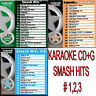 KARAOKE CD+G LEGEND SERIES 3 Disc Set VOL-2,12,19 SMASH HITS In Vinyl With Print