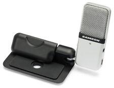 Samson Go Mic Microfono da Studio a Condensatore USB Portatile