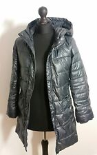 gap girls jacket size xl puffer padded hooded outerwear coat metallic