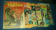 tarzan of the apes 6 issue dell gold key silver age comics lot collection movie