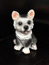 Siberian Husky Puppy Figurine Alaskan Malamute/Spitz-Type Breed of Dog (Resin)
