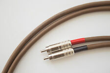 Belden 8402 w/ Switchcraft 3502A Audiophile High-End Interconnects 1.5ft./0.5m.