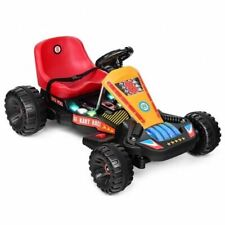 Durable 4 Wheels Red Electric Powered Go Kart Children's Ride on Car-