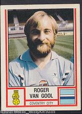 PANINI CALCIO VIGNETTA 1981-N. 79-Coventry City-ROGER Van gool