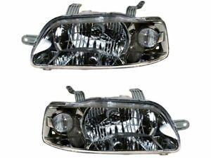 For 2004-2006 Chevrolet Aveo Headlight Assembly Set 67877TK 2005