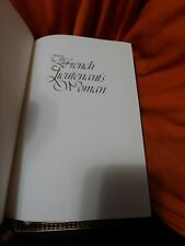 New listing The French Lieutenant's Woman John Fowles Signed Franklin Library Leather 1979