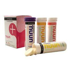 Nuun Vitamins + Energy: Multi-Flavor Enhanced Hydration Supplement (4-Pack)