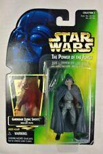 Garindan Long Snoot Power of the Force 1997 Star Wars Green Card w Hologram POTF