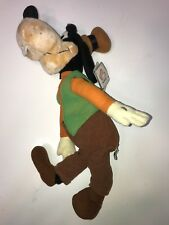 Disney Goofy Plush Stuffed Doll Applause 1984 With Tags! #2371