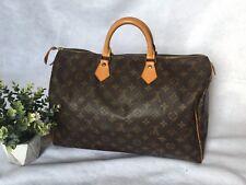 Auth. Louis Vuitton Speedy 40 Monogram Bag