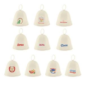 Sauna Hat, Russian Banya, Cap, Saunahut, Saunahattu 100% Wool Felt for Bath