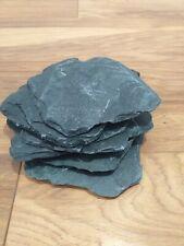 10x Large NATURAL SLATE (Rock Stone)AQUARIUM/VIVARIUM Fish Tank Reptile.Spawning