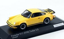 1:43 MINICHAMPS 1975 PORSCHE 911 (930) Turbo 3.0 talbot yellow 200 cartima EXCL.