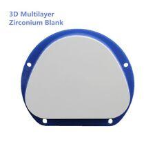 3D mulilayer dental lab amann girrbach cad cam zirconia blocks supplies