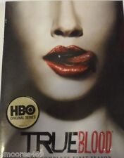 True Blood - The Complete First Season (DVD, 2009, 5-Disc Set) Brand New Sealed