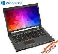 """HP Workstation 8760W 17"""" RAW 1920x1080 i5-2520m 16GB 500gb Nvidia Quadro K3000M"""