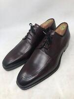 New Magnanni Prix Apron Toe Dress Derby Shoes Size 10M MENS Mid Brown