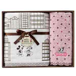 Mickey Mouse and Minnie Mouse Towel Gift Sweet Town Wash Towel Bath Towel Disney