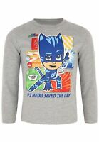 Pj Masks Boys Hero Time Long Sleeve T Shirt