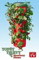 1 Topsy Turvy Upside Down Strawberry Planter Grows up to 15 Qts As Seen On TV
