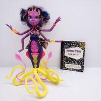 Monster High Great Scarrier Reef Kala Merri Doll With Journal