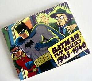 RARE NEWSPAPER REPRINT BOOK - BATMAN: THE DAILIES VOL 3 (1945-1946) - JOE DESRIS