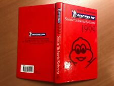 Guide Michelin Suisse 1999, neuf