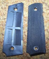 M-1911 & A1 .45 GRIPS, BLACK PLASTIC, U.S. ISSUE *NEW*