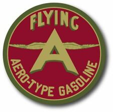Vintage Chicken Wing Flying a Oil Gas Outdoor 4 Inch Decal Sticker