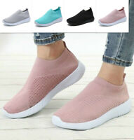 Women Casual Sneaker Knit Sock Running Shoe Mesh Breathable Outdoor Sports Shoes