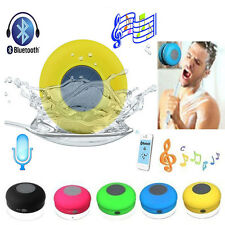 Waterproof Wireless Bluetooth Speakers Handsfree MIC Car Bathroom Shower Speaker