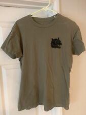 Brixton Olive Green T Shirt Size M