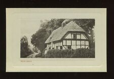 Worcs Worcestershire ROUS LENCH pre1919 PPC reverse New Year message print