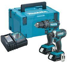 Makita DLX2131J 18v Twin Pack DHP482 Combi Drill + DTD152Z Impact Driver 2.0AH