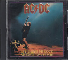 AC/DC Let There Be Rock The Movie Live In Paris CD RARE FASTPOST
