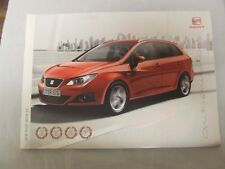 Seat Ibiza ST Full brochure 2009 34 pages