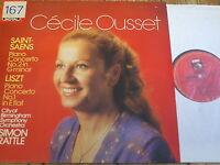 ASD 4307 Saint-Saens / Liszt Piano Concertos / Ousset / Rattle