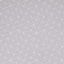 Stoff Baumwolle beschichtet Swafing Luna Grau/weiß Motiv abstrakt 160cm