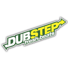 DUB STEP sticker 180 x 40mm vw euro dubtep