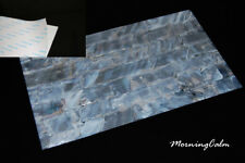 White Freshwater Shell Adhesive Veneer Sheet (MOP Overlay Inlay Luthier)