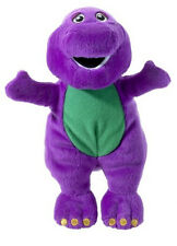 "Barney Dinosaur 14"" Plush Stuffed Soft Huggable Rag Doll Usa Seller - New w Tags"
