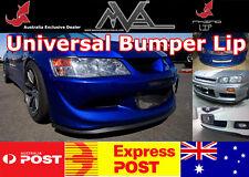 RHINO LIP Bumper Spoiler Splitter EVO 1 2 3 4 5 6 7 8 9 10 X Lancer ES CE VRX MR