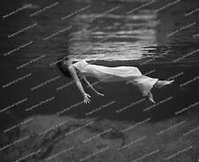 Vintage photo-Woman Swimming in Ocean-8x10 in.